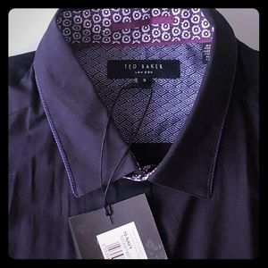Men's Ted Baker LS Button Down, Size 3